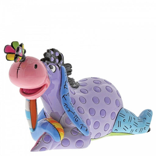 Disney Britto Collection: Eeyore with Butterfly Mini Figurine