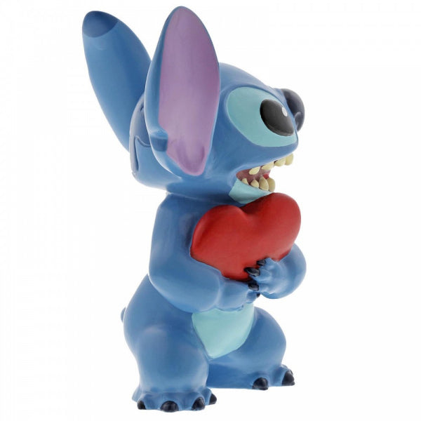 Disney Showcase Collections: Stitch Heart Figurine