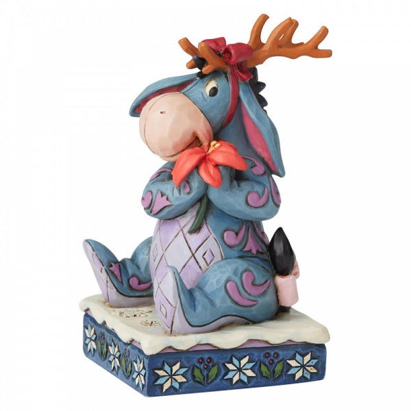 Disney Traditions Collection: Winter Wonders (Eeyore Christmas Figurine)
