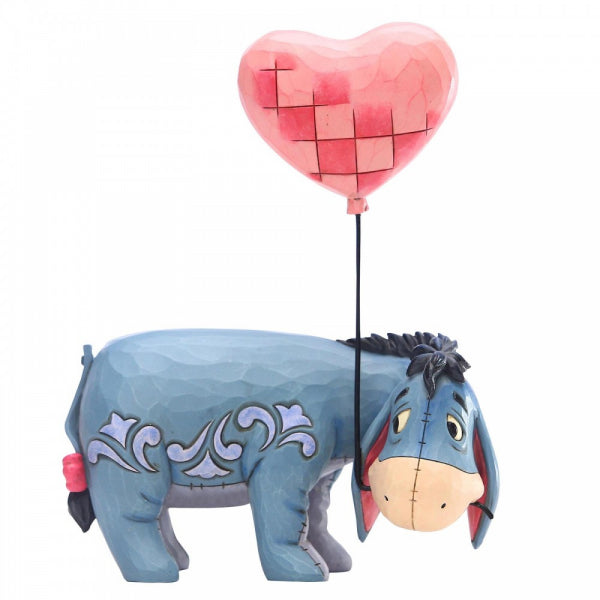 Disney Traditions Collection: Eeyore with a Heart Balloon Figurine