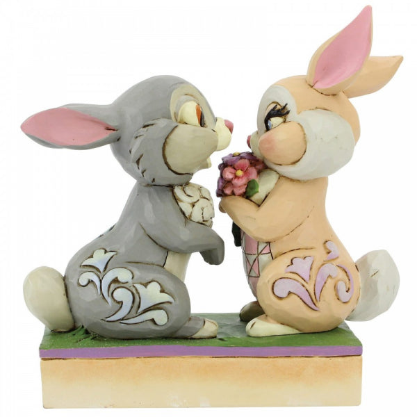 Disney Traditions Collection: Bunny Bouquet (Thumper and Blossom Figurine)