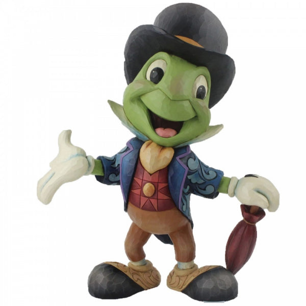Disney Traditions Collection: Cricket's the Name. Jiminy Cricket Statement Figurine