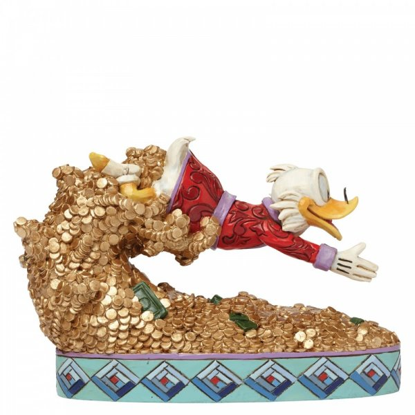 Disney Traditions Collection: Treasure Dive (Scrooge McDuck Figurine)