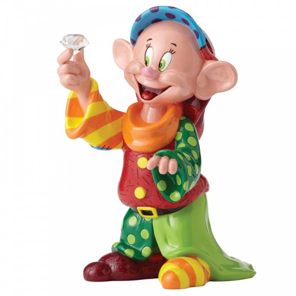 Disney Britto Collection: Dopey with Diamond Figurine
