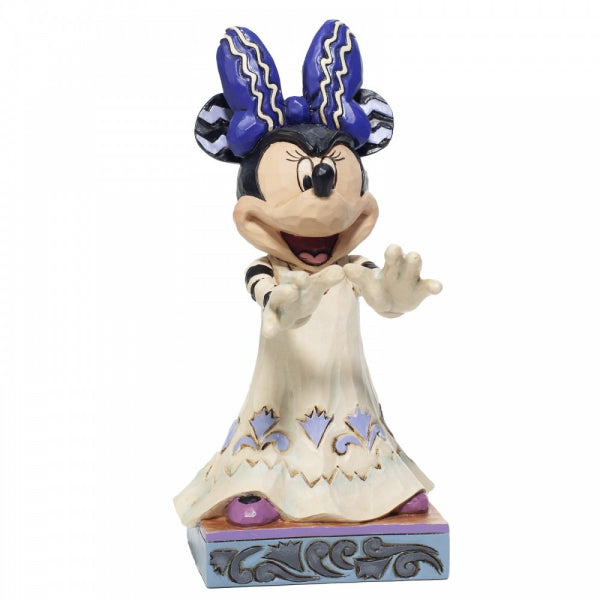 Disney Traditions Collection: Halloween Minnie Figurine