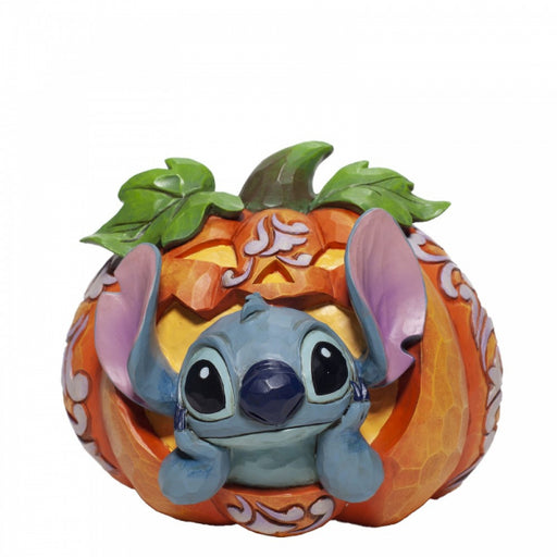 Disney Traditions Collection: Stitch O' Lantern Figurine