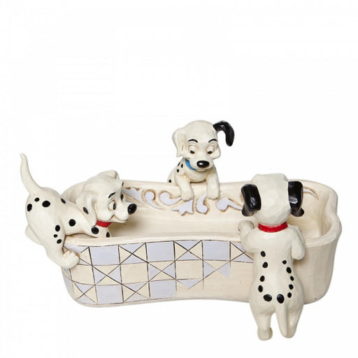 Disney Traditions Collection: Puppy Bowl - 101 Dalmatians Bone Shaped Dish