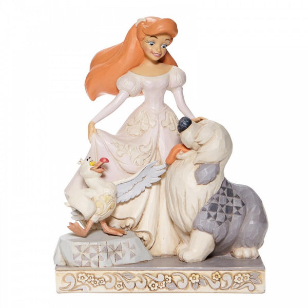 Disney Traditions Collection: Spirited Siren -White Woodland Ariel Figurine