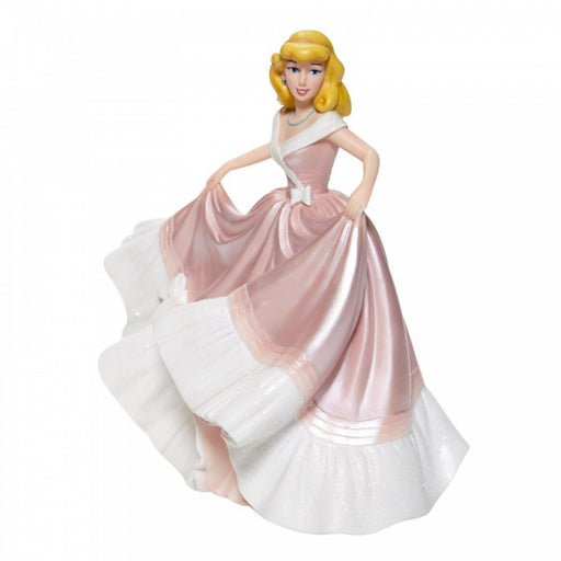 Disney Showcase Collections: Cinderella in Pink Dress Couture de Force Figurine