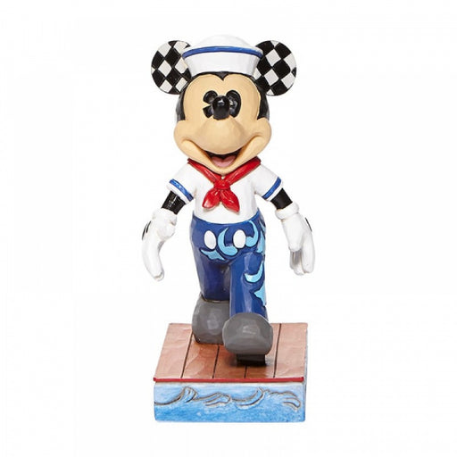 Disney Traditions Collection: Snazzy Sailor - Mickey Sailor Personality Pose Figurine