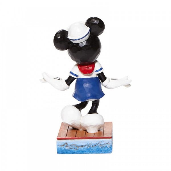 Disney Traditions Collection: Sassy Sailor - Minnie Mouse Personality Pose Figurine