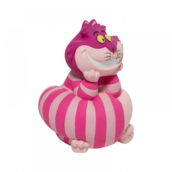 Disney Showcase Collections: Cheshire Cat Leaning On His Tail Mini Figurine