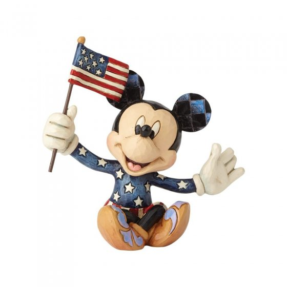 Disney Traditions: Mickey Patriotic Mini Figurine