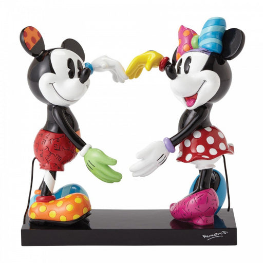 Disney Britto Collection: Mickey and Minnie Mouse Figurine