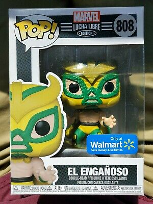 Marvel Lucha Libre Edition: El Engañoso Walmart Exclusive Funko Pop