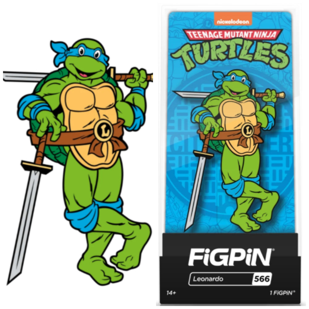 Teenage Mutant Ninja Turtles FiGPiN Leonardo