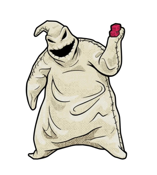 Nightmare Before Christmas FiGPiN Oogie Boogie
