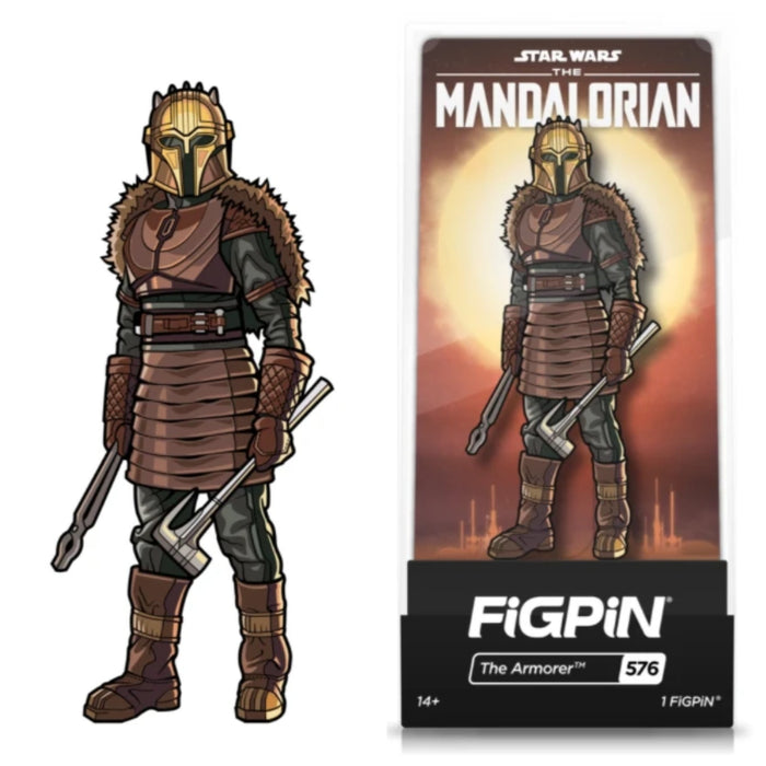 Star Wars: The Mandalorian FiGPiN The Armorer