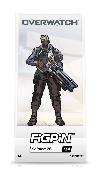 Overwatch FiGPiN Soldier: 76 Collector