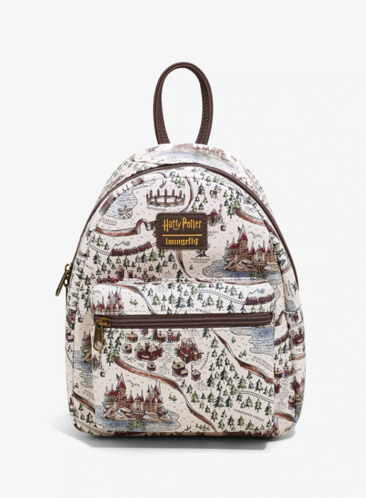 Harry Potter Loungefly - Hogwarts School Grounds Mini Backpack - Hot Topic Exclusive
