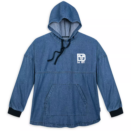 Walt Disney World Hooded Denim Spirit Jersey for Adults