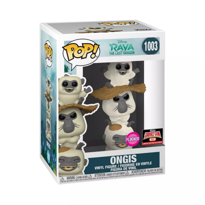 Disney Raya and the Last Dragon: Flocked Ongis Target Exclusive Funko Pop