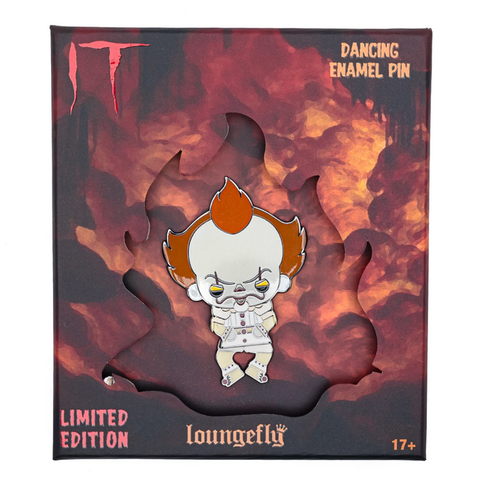 IT Pennywise Collector Box Dancing Enamel Pin LE500