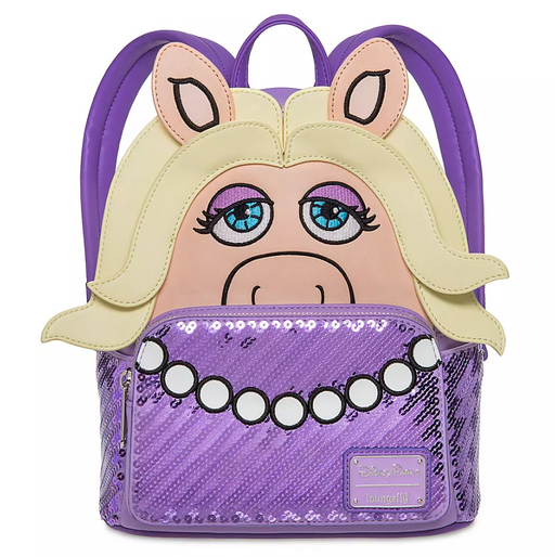 The Muppets Loungefly - Miss Piggy Mini Backpack - Disney Parks Exclusive