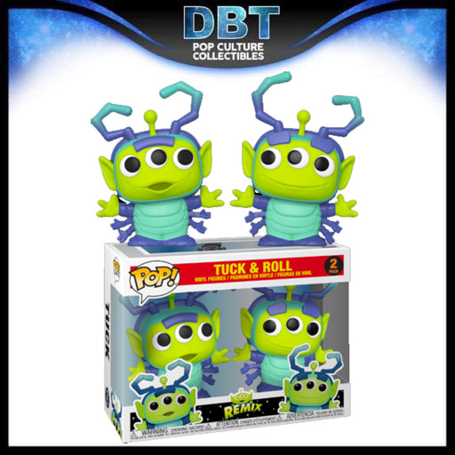 Disney Pixar Alien Remix: Tuck & Roll 2-Pack Exclusive Funko Pop