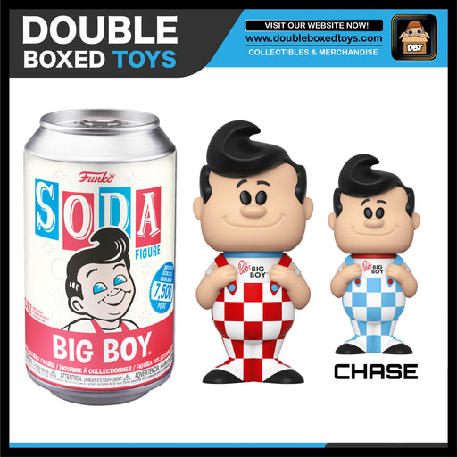 Vinyl Soda: Ad Icons - Big Boy (with Chance of Chase) LE7500