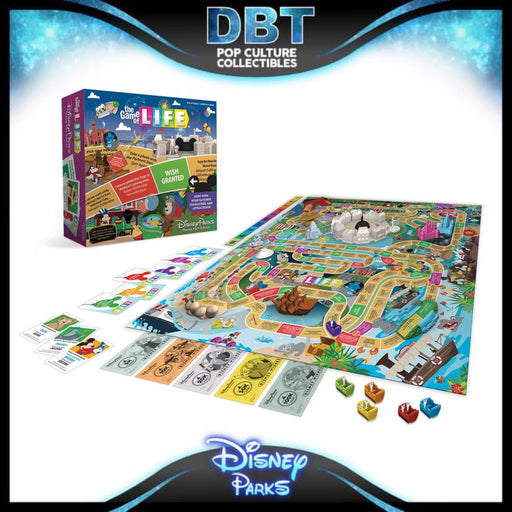 The Game of Life Disney Parks Theme Park Edition