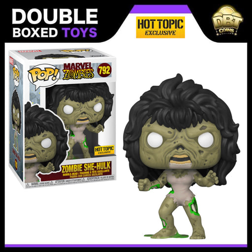 Marvel Zombies: She-Hulk Hot Topic Exclusive Funko Pop