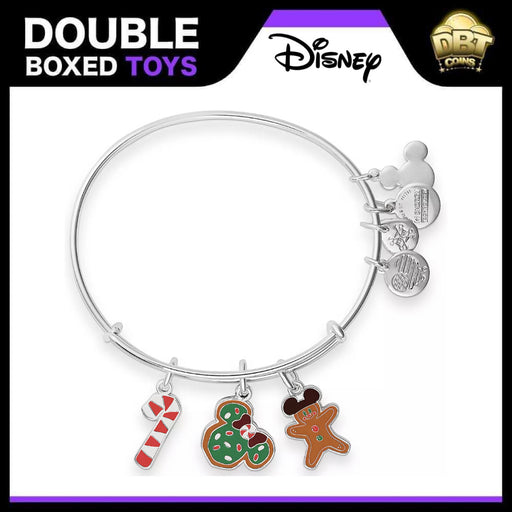 Minnie Mouse Holiday Food Bangle by Alex and Ani