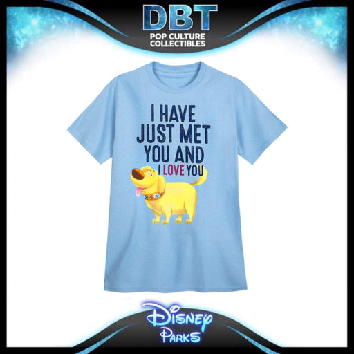 "Animal Kingdom - Dug ""I have just met you and i love you"" T Shirt - Walt Disney World Exclusive"
