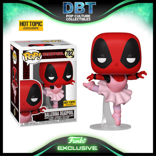 Marvel Deadpool: Ballerina Deadpool Hot Topic Exclusive Funko Pop