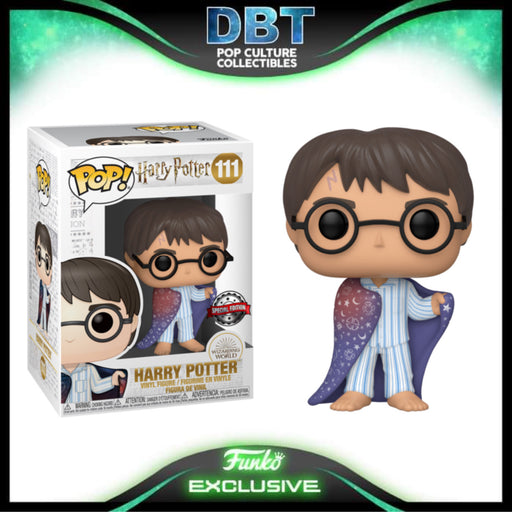 Harry Potter: Harry in Invisibility Cloak Exclusive Funko Pop