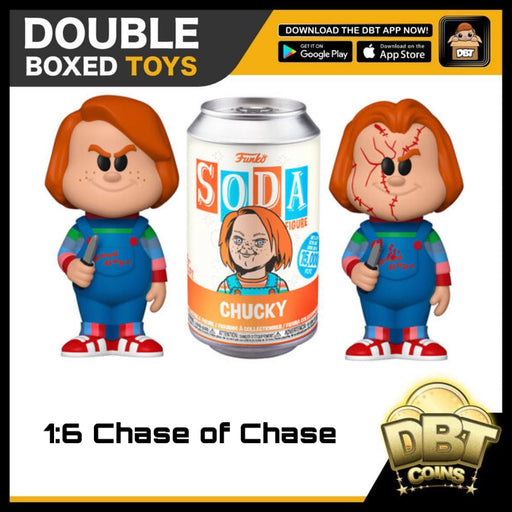 Vinyl Soda: Childs Play Chucky LE15000 (with Chance of Chase)