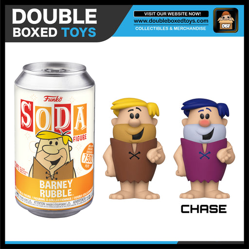 Vinyl Soda: The Flintstones - Barney Rubble (London Toy Fair 2020) (with Chance of Chase)
