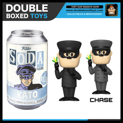 Vinyl Soda: The Green Hornet - Kato (London Toy Fair 2020) (with Chance of Chase)