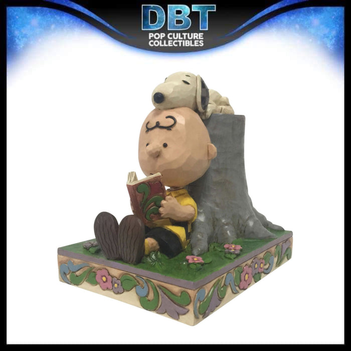 "Jim Shore Peanuts: Charlie Brown and Snoopy Best Pals 6.5"" Figurine"
