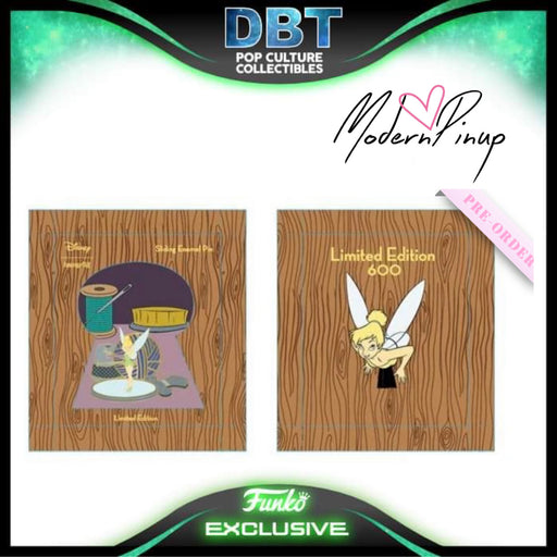 Disney Loungefly - Tinker Bell Collector Box Enamel Pin LE600 - Modern Pinup Exclusive