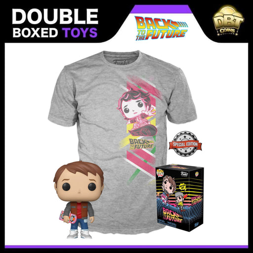 Back to the Future: Marty McFly Pop & Tee Exclusive Collectors Box