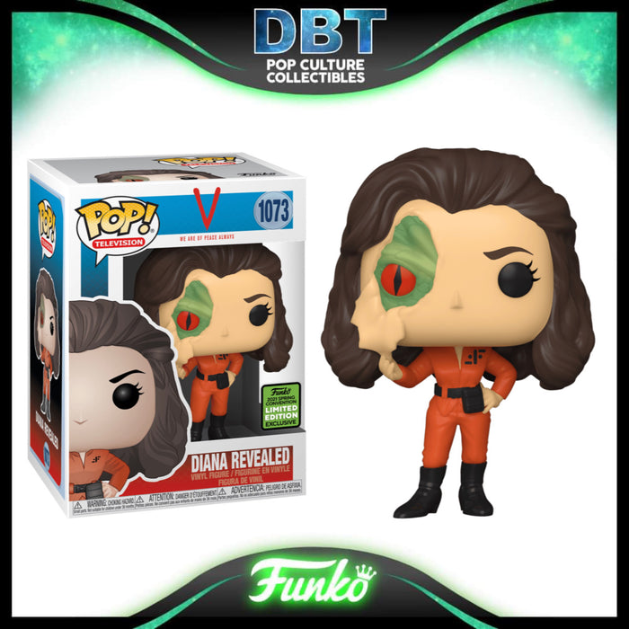 V: Diana Revealed ECCC 2021 Exclusive Funko Pop