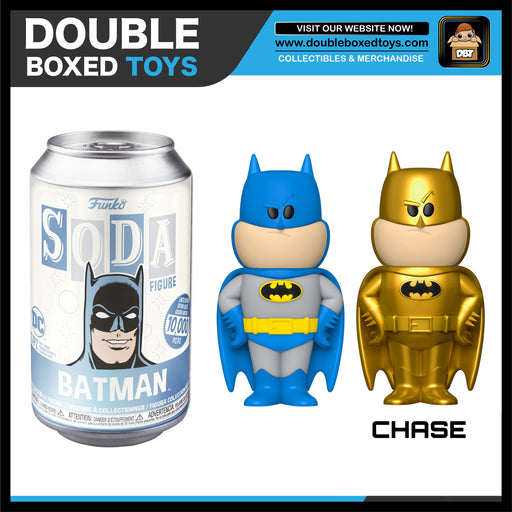 Vinyl Soda: DC Comics - Batman (London Toy Fair 2020) (with Chance of Chase)