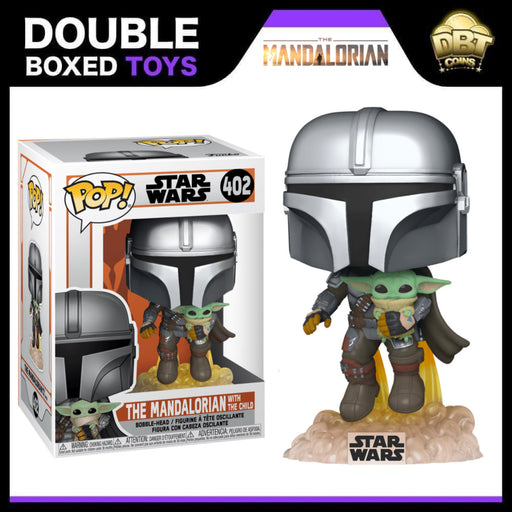 Star Wars The Mandalorian: The Mandalorian with The Child Funko Pop