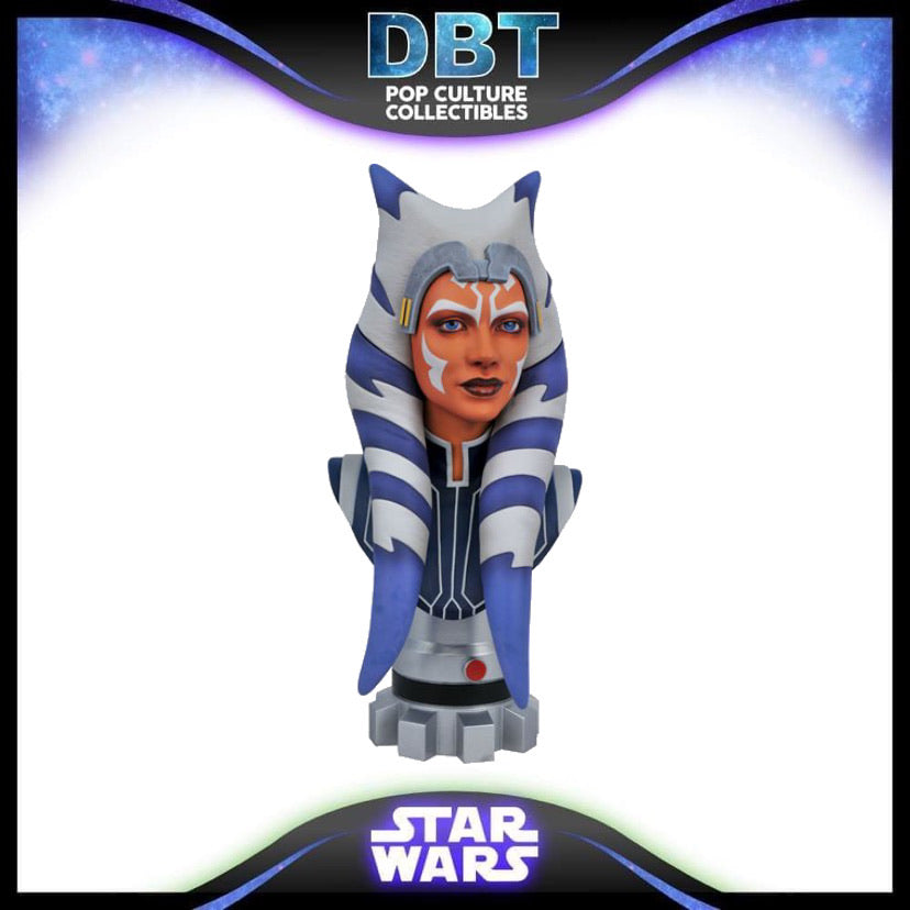 Star Wars Clone Wars Legends in 3D Ahsoka 1:2 Scale Bust