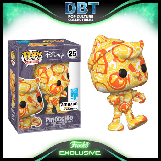 Disney Art Series: Pinocchio Amazon Exclusive Funko Pop