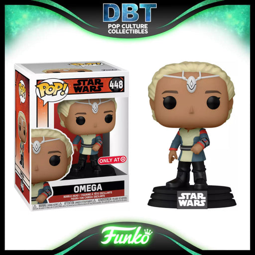 Star Wars The Bad Batch: Omega Target Exclusive Funko Pop