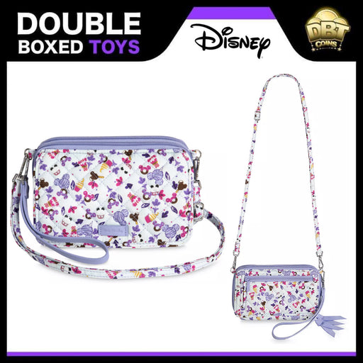 Mickey Mouse and Friends Sweet Treats Crossbody Bag by Vera Bradley