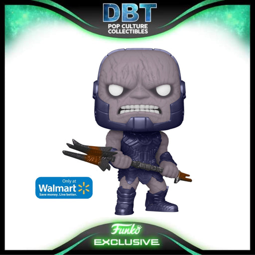 DC Comics: Zack Snyders Justice League Darkseid (Metallic) Walmart Exclusive Funko Pop